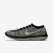 Nike lab free rn motion flyknit para hombre negro/gris pálido/vela_937