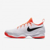 Nike court air zoom ultra react para mujer blanco/hipernaranja/negro_177