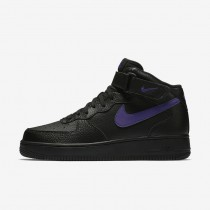 Nike Air Force 1 Mid '07 Men's Shoe Black/Court Purple