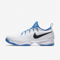 Nike court air zoom ultra react para hombre blanco/azul foto claro/negro_453