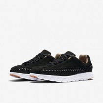 Nike mayfly woven para mujer negro/blanco/olmo/gris oscuro_045
