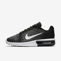 Nike air max sequent 2 para mujer negro/gris oscuro/gris lobo/blanco_099