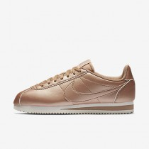 Nike classic cortez leather para mujer bronce rojo metálico/blanco cumbre/bronce rojo metálico/bronce rojo metálico_279