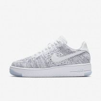 Nike air force 1 flyknit low para mujer blanco/negro/blanco_083