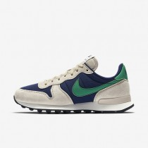 Nike internationalist para mujer azul binario/crudo/vela/verde estadio_233