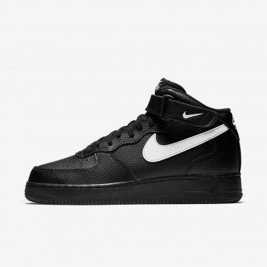 Nike Air Force 1 Mid '07 Men's Shoe Black/Sail