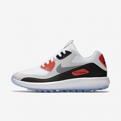 Nike air zoom 90 it para mujer blanco/gris neutro/negro/gris azulado_201