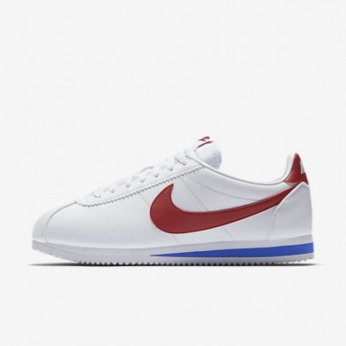 Nike classic cortez leather para hombre blanco/royal universitario/rojo universitario_097